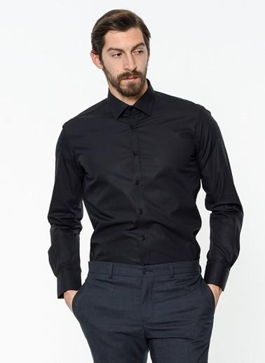 Daffari Uzun Kollu Gömlek Siyah
